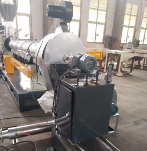PVC che ricicla la macchina dell'appalottolatore