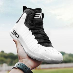 De Schoenen van de Sporten van het Basketbal van de Lichtgewicht Naar maat gemaakte Hoge van de Enkel van de lucht van de Manier van het Schoeisel Mensen van de Tennisschoen