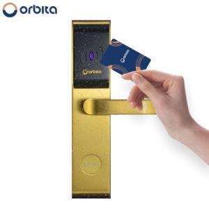 Fechadura da porta do hotel bloqueador eléctrico da fechadura da porta de impressão digital Smart Lock