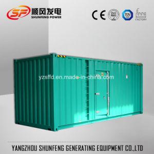 Conteneur de 1200KW Mitsubishi Electric Power Diesel générateur avec auvent insonorisées