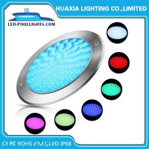 Толщина 8 мм 18W подводного освещения светодиодный индикатор есть плавательный бассейн с маркировкой CE&RoHS утверждения