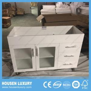 Governo di stanza da bagno bianco della vernice di vendita del pavimento dorato caldo di Australia-Stile HS-S1103-750