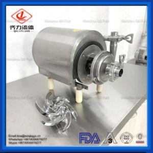 SS304/316L Mesures sanitaires de qualité alimentaire pour les produits laitiers de la pompe à eau centrifuge