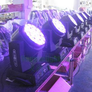 19X15W Etapa DMX luces LED Discoteca DJ Bee ojo moviendo la luz de la cabeza