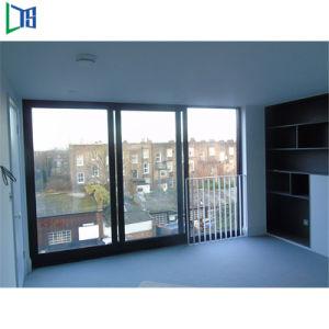 Vidro corrediço de alumínio com vidro duplo na janela de alumínio com Normas Australianas como2208