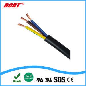 Европейский VDE Шнур питания переменного тока 2 контактный разъем с кабелем H03vvh2-F