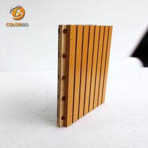 Comitato acustico G16-T3/13 del legname Grooved dell'impiallacciatura