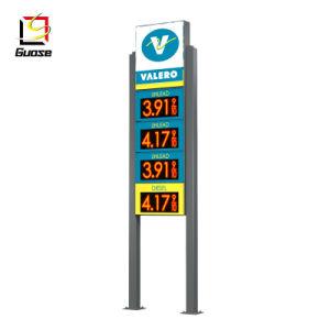 주유소 전시를 위한 휘발유 역 장비 LED 가격 널