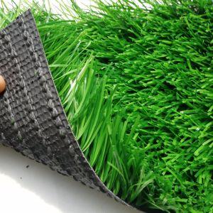 Erba artificiale esterna verde di gioco del calcio dell'erba del campo di calcio per gli sport