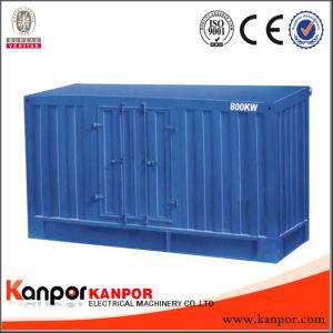 Exportador de fábrica Kanpor resfriado a água acionado pelo motor Cummins Atj38-G2a
