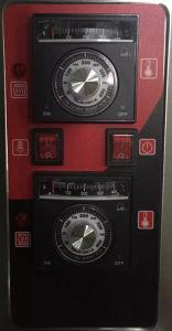 1 dek 2 de Oven van het Baksel van het Dek van het Gas van Dienbladen (rql-20)