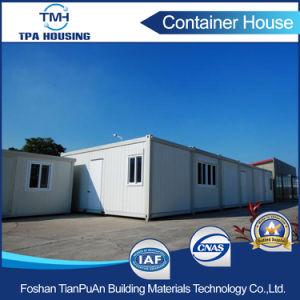 プレハブの家デザインのオフィスのための20FTの輸送箱の家