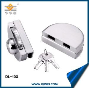Oficina de acero inoxidable 304 Cerradura de puerta de vidrio (DL-103)