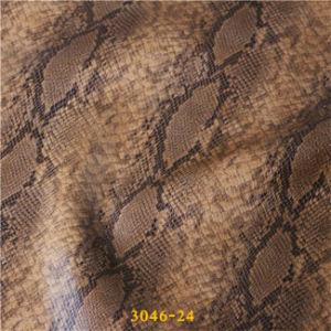 Популярные змея дизайн PU искусственной кожи для заядлых женских обувь