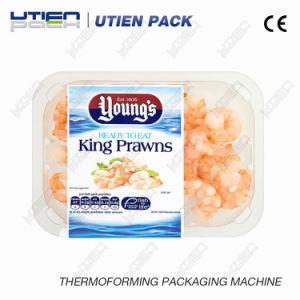 Comida de mar de termoformado automática máquina de envasado Skin al Vacío (VSP)