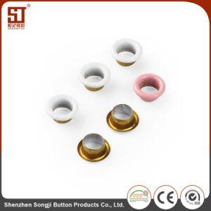 カスタム方法円形の金属アイレットジーンズボタン