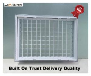 Registre de l'air HVAC diffuseur en aluminium Double Déflection Grille