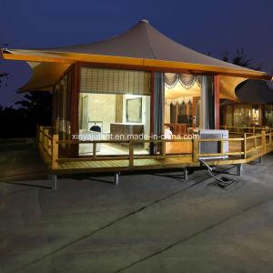 Venta directa de fábrica de gama alta Hotel Glamping Carpa carpa de la cabina