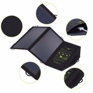 14W Sunpower DC USB repliable Téléphone Mobile Banque d'alimentation Chargeur solaire portable sac ODM OEM