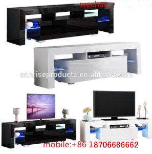 Tabela de TV com luz LED e um design personalizado