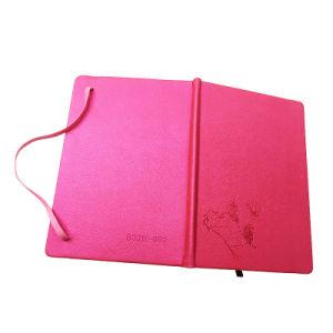 Жесткий футляр тиснения индивидуальные PU кожаный чехол для ноутбука с эластичные петли