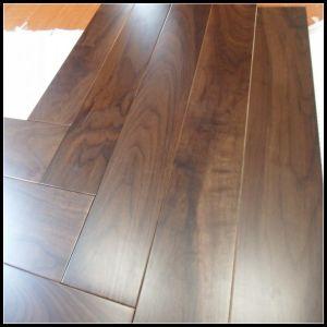 Diseñado resistente al agua Suelos de madera de nogal negro