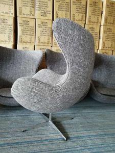 Stoel van de Bal van het Ei van de Schommeling van de Fabriek van het Meubilair van de Vrije tijd van China Foshan de Roterende