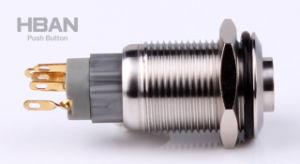 TUV ULは16mm LEDの軽い押しボタンスイッチをリング照らした