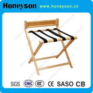 Honeysonのホテルの使用のための木の安定した手荷物棚