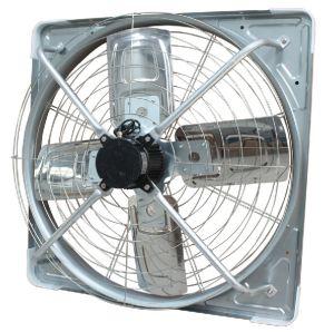 Piatto galvanizzato cheAppende il ventilatore di scarico industriale di ventilazione