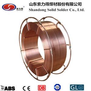 Protection de gaz CO2 des fils à souder ER70S-6 fils à souder MIG/matériaux de soudage
