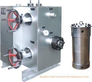Contínuo Cambiador-Sobre o filtro do derretimento