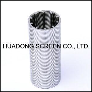 Keil-Draht-Gefäß-Edelstahljohnson-Bildschirm-Filter