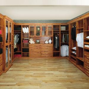 Oppein Classic Brown Abrir guarda-roupa de madeira (cópia09-33)