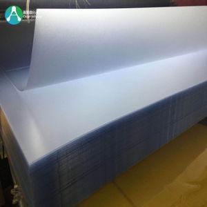 Mícron Apagar folha rígida de PVC em relevo para a caixa dobrável