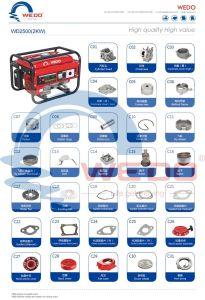 pezzi di ricambio dei generatori della benzina del carburatore 2000With2500With2800W/testata del pistone/albero a gomito/cilindro