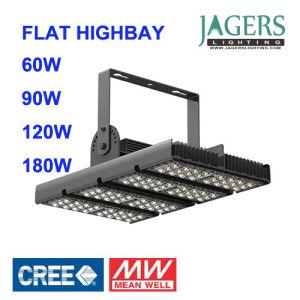 Plano de la bahía de 120W de alta de luz LED de alta potencia, la luz del tunel, CREE LED, Meanwell conductor