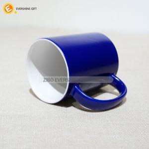 330ml de cerâmica de mudança de cores Magic Funny Caneca para beber