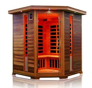 Nouveau coin salle à sec du panneau de commande d'ordinateur Sauna Infrarouge