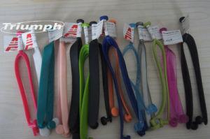 O PVC chinelos tirante superior (TRS-0709)
