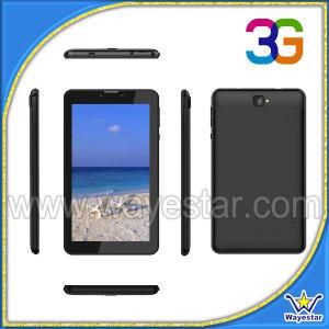 7 polegadas, HD 1024*600 Telefone Tablet 3G WCDMA 1GB de RAM 8g ROM