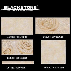 300*600 Ceramiektegel voor Bathrooom met het Patroon van de Bloem