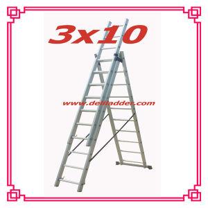 3セクションExtension Ladder 3X10