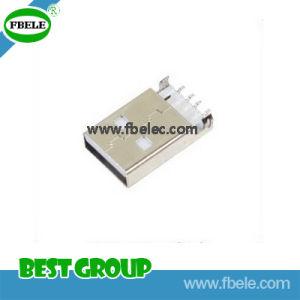 Fbusba1-110 USB 4port 허브 USB/a 유형 또는 Plug/SMT 유형 USB 연결관