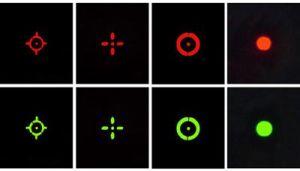 De nieuwe van het Ontwerp Tactische van het Dradenkruis Reflex Rode Groene van de PUNT van het Geweer van het Werkingsgebied MultiBlk Zhejiang Doos van het Gezicht 1X22X33