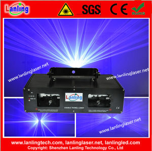 Двойной синий 100 Мвт+100MW 450 нм этапе лазерные приборы освещения