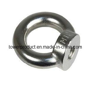 Carbon Steel Eye Bolts and Nut (MGS-EB002)