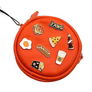 A mais nova rodada Coin Bolsa pequena bolsa Zipper carteiras para senhoras raparigas Dom