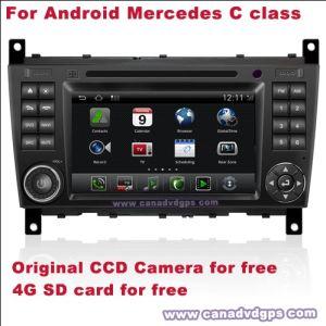 La carta Android di deviazione standard della macchina fotografica del CCD del sistema di navigazione del codice categoria di Mercedes C DVR WiFi 3G per migliore servizio di migliore qualità libera libera Shipping+Gift