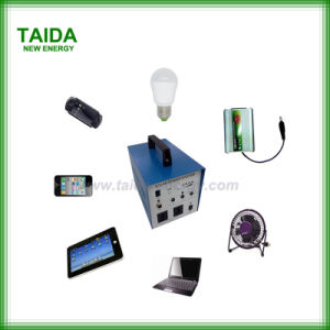 40W-80W Sistema de energia solar em casa